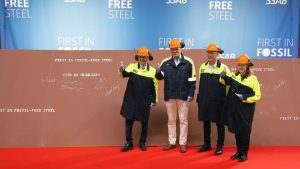 Nordic group creates steel with green hydrogen technology