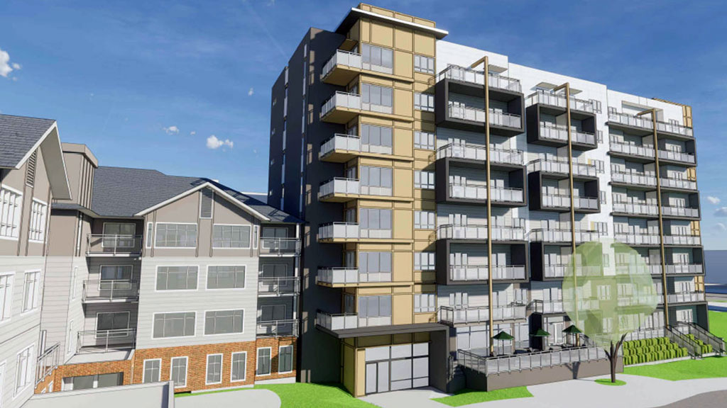 Destroyed Langley complex being redeveloped for seniors