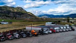 B.C. funds logging truck driver training in the Okanagan