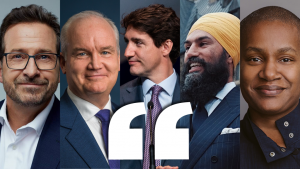 Read My Lips: Party leader quotes from the week