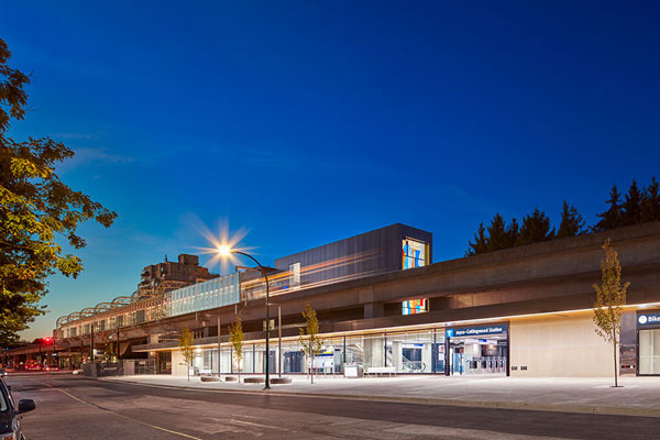 Graham Construction and Engineering LP has won a Vancouver Regional Construction Association Silver Award for 2020 in the General Contractors $20 Million to $50 Million category for the Joyce‐Collingwood SkyTrain Station.
