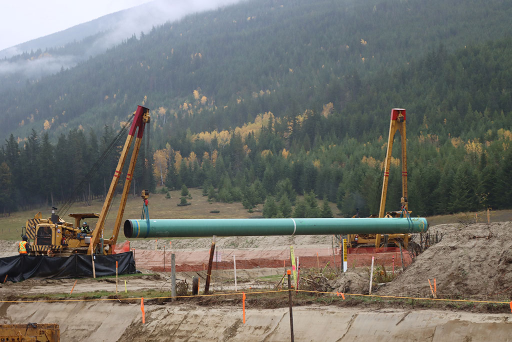COVID cluster found at Trans Mountain site