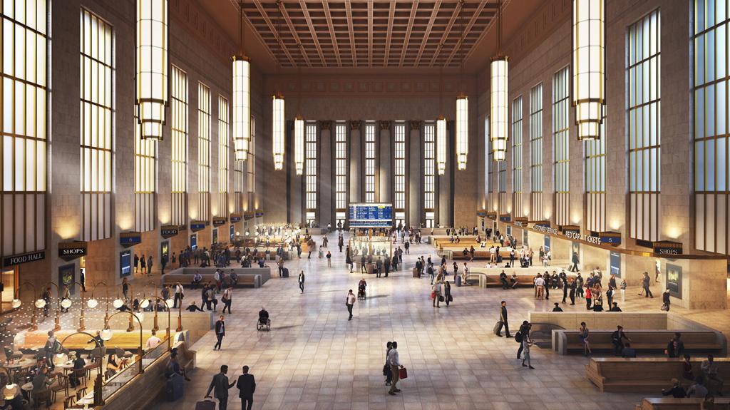 Historic Philadelphia Amtrak station getting major reno