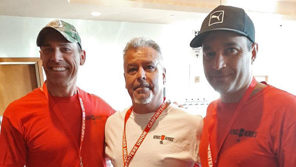 Carpenters' rep continues his trek raising funds for Renos for Heroes
