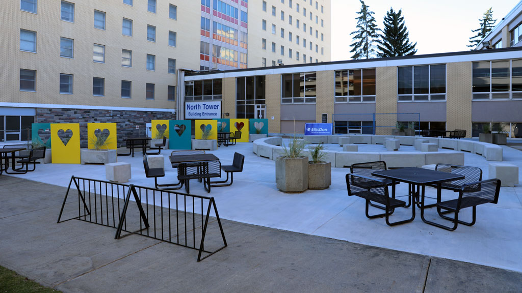 EllisDon, partners give Calgary health care workers respite space