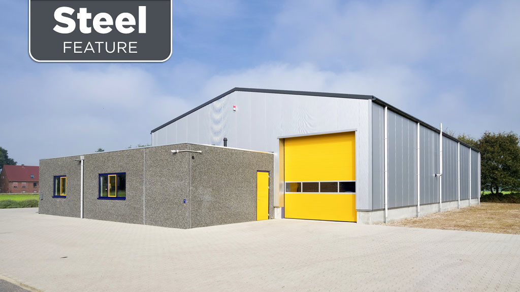Steel the material of choice for cannabis facilities