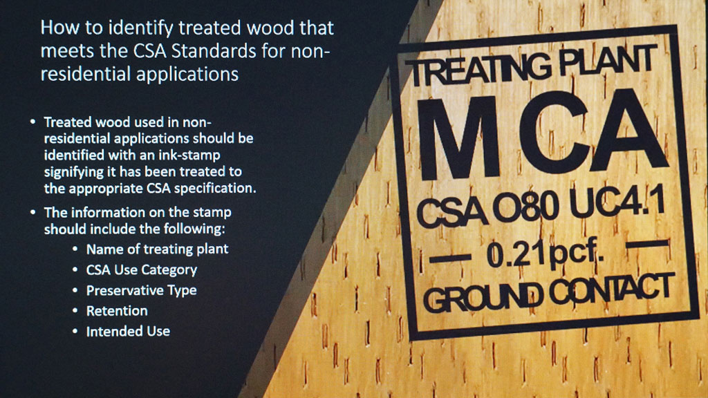 Webinar gets special treatment on the top uses of treated wood
