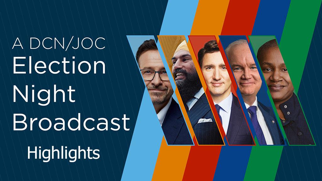 VIDEO: DCN/JOC Election Broadcast Highlights