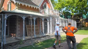 Aurora's Hillary House facelift aims to draw interest as a main street marvel