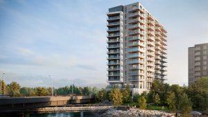 Zibi's Aalto rental building to open in December