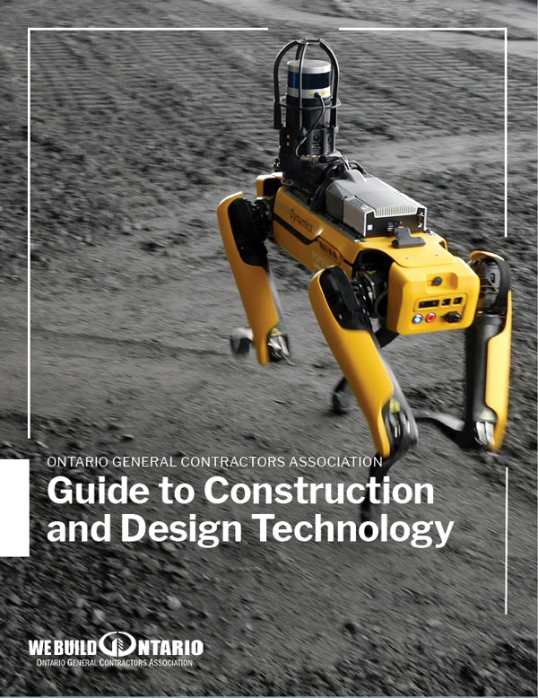 The new OGCA Guide to Construction and Design Technology is intended to offer OGCA members a foundation in BIM, VDC, reality capture and geographic information systems.