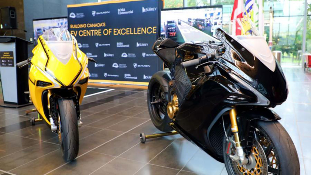 Work starts on electric motorcycle facility in Surrey