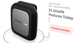 Humo develops wearable sensors to prevent workplace injuries