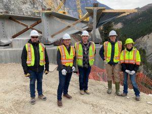 Kicking Horse project hits major construction milestone
