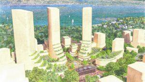 Vancouver unveils conceptual plans for Jericho Lands site